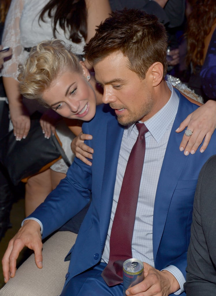 Julianne and Josh Get Support From Their Loves at Safe Haven Premiere