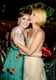 Lena Dunham got a kiss from Claire Danes at the 2013 HBO Emmys afterparty.