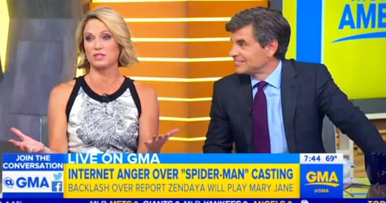 Good Morning America's Amy Robach Apologizes for Racial Slur Made During Zendaya Story