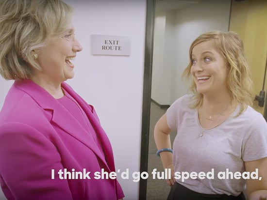 WATCH: Amy Poehler Mulls a Leslie Knope Presidency with Hillary Clinton as Voters Head to the Polls in Indiana