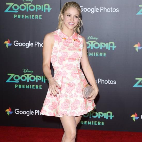 Shakira Fitness Interview June 2016