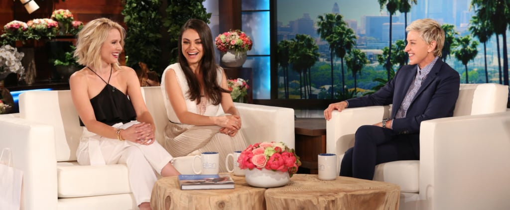 Watch Mila Kunis Get Super Embarrassed While Talking About Her Sex Life With Ashton Kutcher