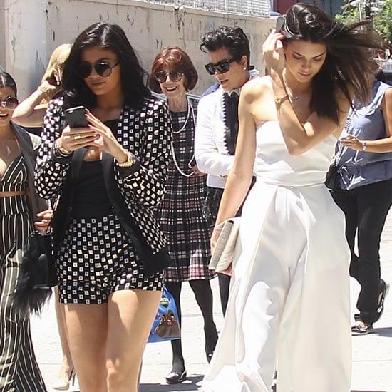 The Kardashians' Street Style Outfits