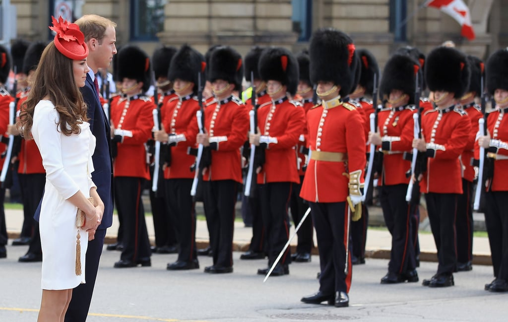 Prince William and Kate Middleton took in the Canada Day parade in Ottawa.