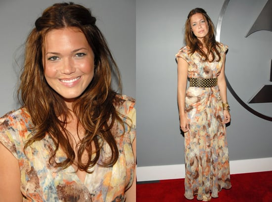 The Grammys Red Carpet: Mandy Moore