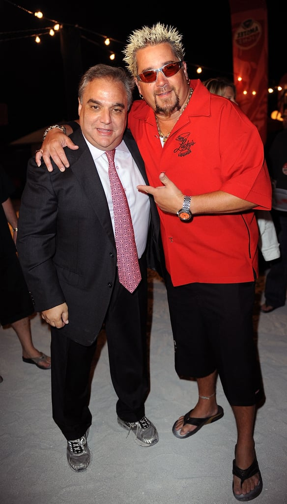 Guy Fieri and event planner Lee Schrager