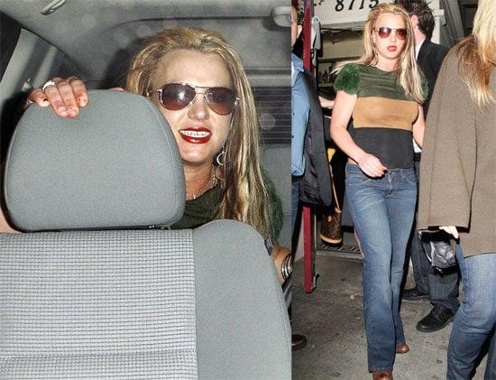 Britney Spears out in LA 2008-03-23 23:17:48