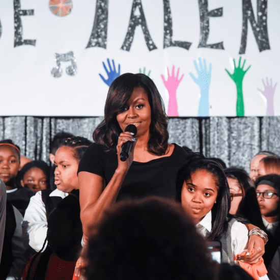 Michelle Obama With Kids at White House Talent Show 2016