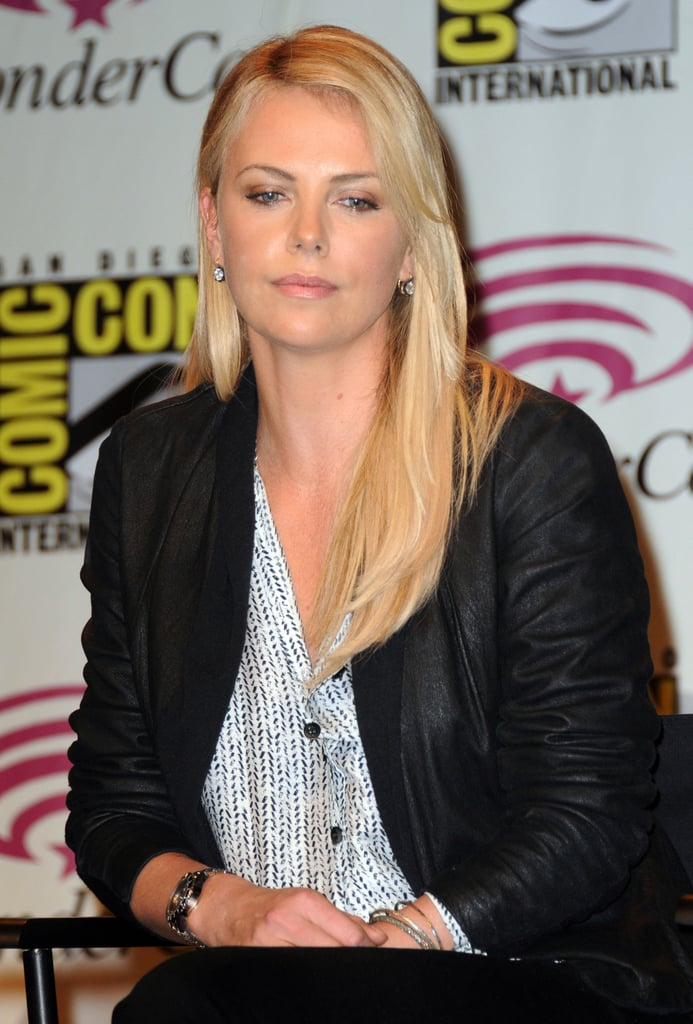 Charlize Theron at WonderCon.