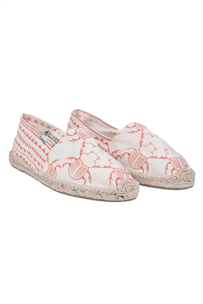 What's cuter or more comfortable than this pair of Soludos Lalesso espadrilles ($45)? The insect print feels both a little quirky and totally eye-catching — just think of them as sweet upgrade on last year's flip-flops and throw these in your beach bag instead. — HW