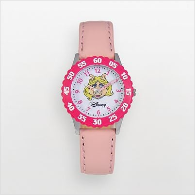 Miss Piggy Time Teacher Stainless Steel Watch