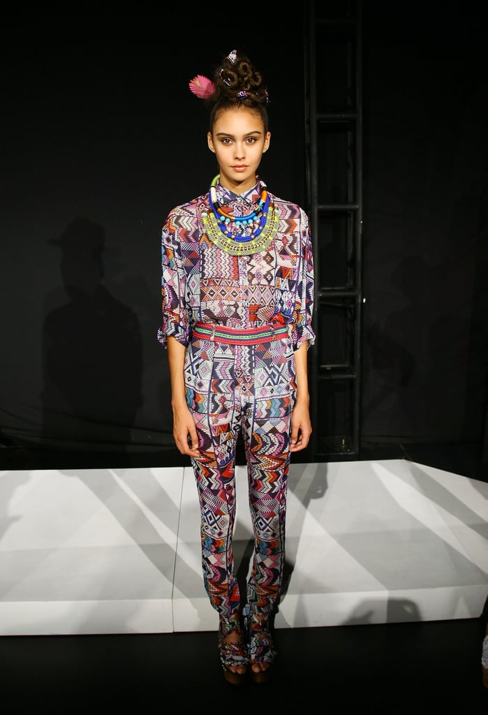 We can already picture Olivia Palermo in Mara Hoffman's eclectic cool head-to-toe print suit.
