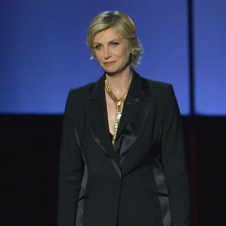 Jane Lynch's Tribute to Cory Monteith at 2013 Emmy Awards