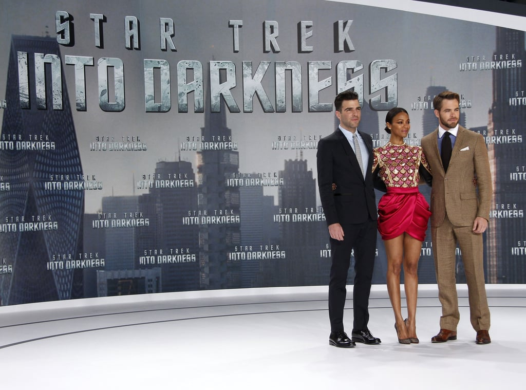 Chris Pine and Zoe Saldana Bring the Star Trek Crew to Germany
