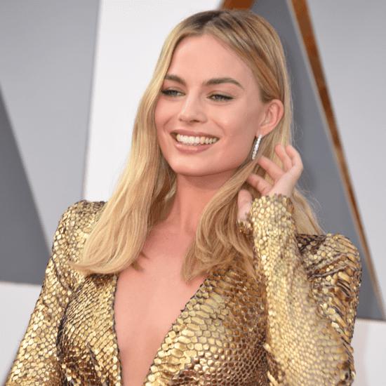 Margot Robbie at Oscars 2016