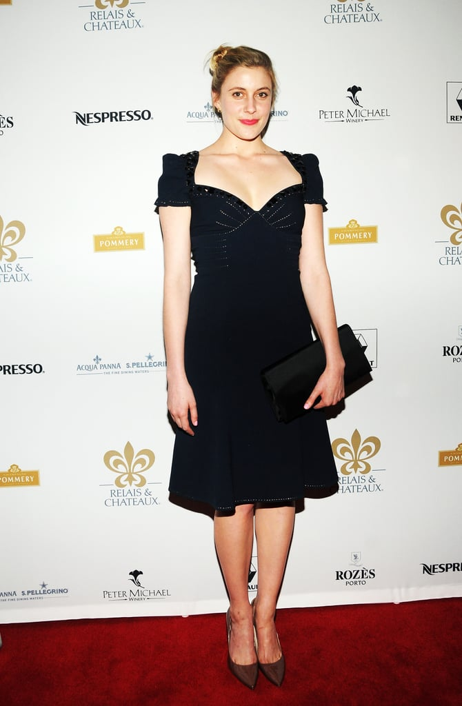 Greta Gerwig attended the Grand Chefs Dinner in NYC.