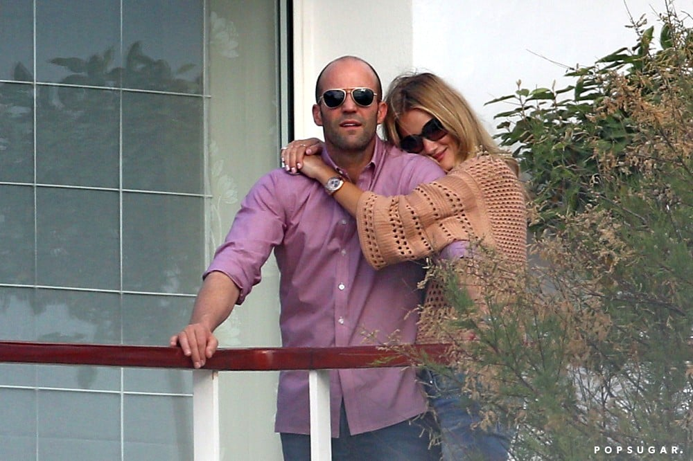 Rosie Huntington-Whiteley and Jason Statham snuggled during a June trip to the South of France.