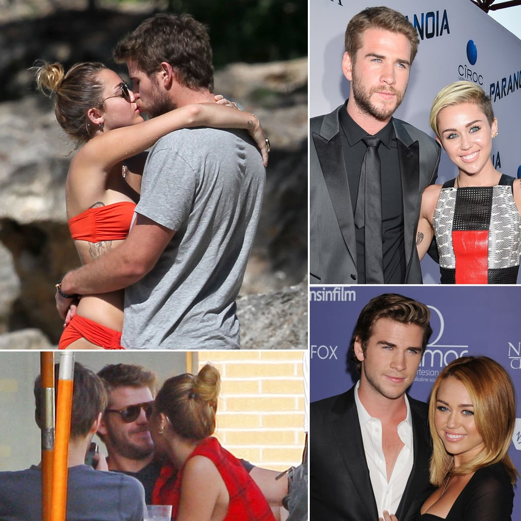 miley cyrus and liam hemsworth relationship 2013
