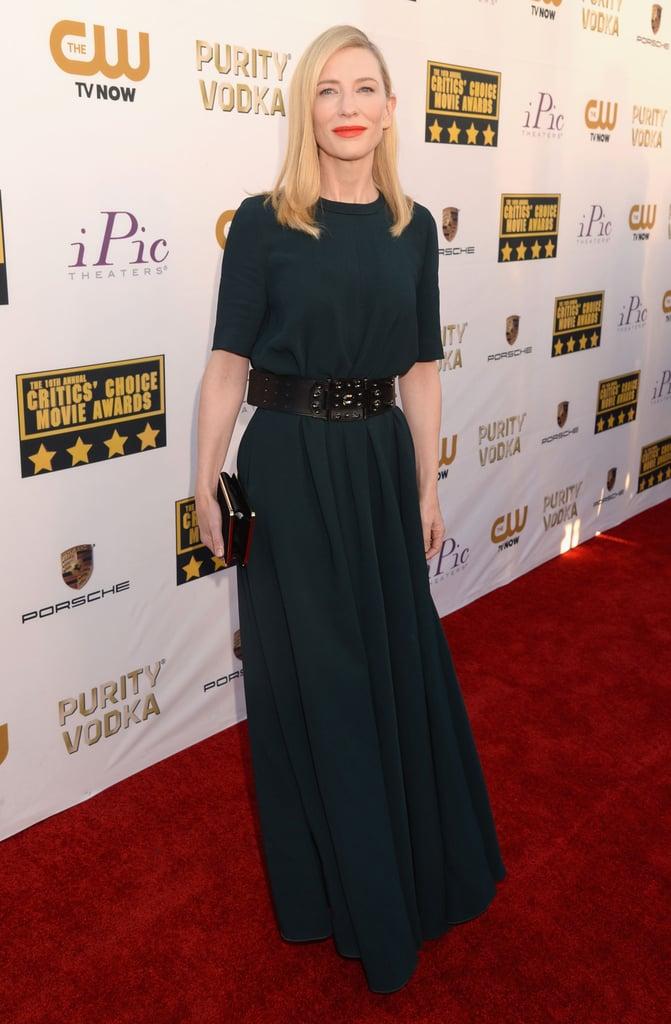 Cate Blanchett at the Critics' Choice Awards 2014