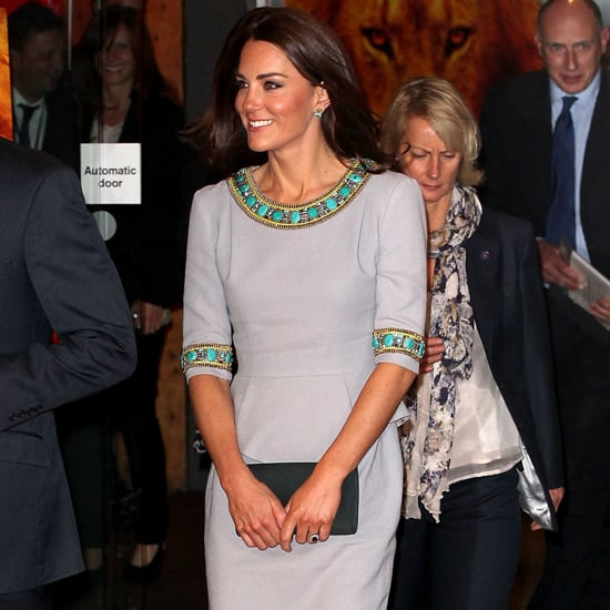 Kate Middleton in Matthew Williamson at Movie Premiere