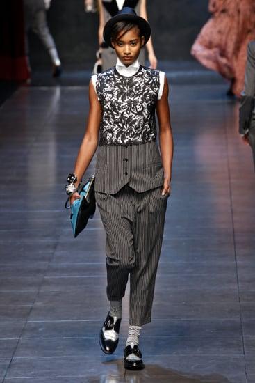 Fall 2011 Milan Fashion Week: Dolce & Gabbana