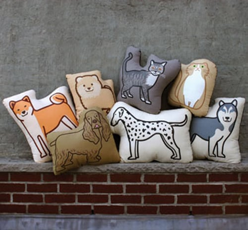 Fill Your Home With Pet Pillows