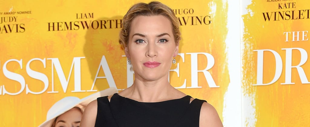 Kate Winslet Steps Out in London on Her Way Back From Visiting the Fountain of Youth