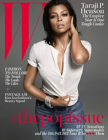 """Taraji P. Henson Goes Nearly Topless and Talks Her """"Bold and Crazy"""" Empire Character"""
