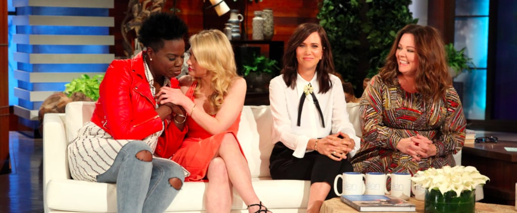 The Ghostbusters Cast Just Can't Keep It Together on The Ellen Show