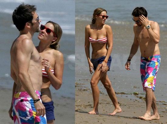 Lauren and Kyle Hit the Beach