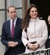Prince William and Kate Middleton stepped out on the balcony in Cambridge.