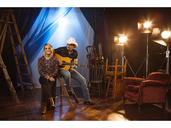Why Carrie Underwood and Brad Paisley's CMA Hosting Gig Works: 'He's Willing to Make Himself the Butt of the Joke'