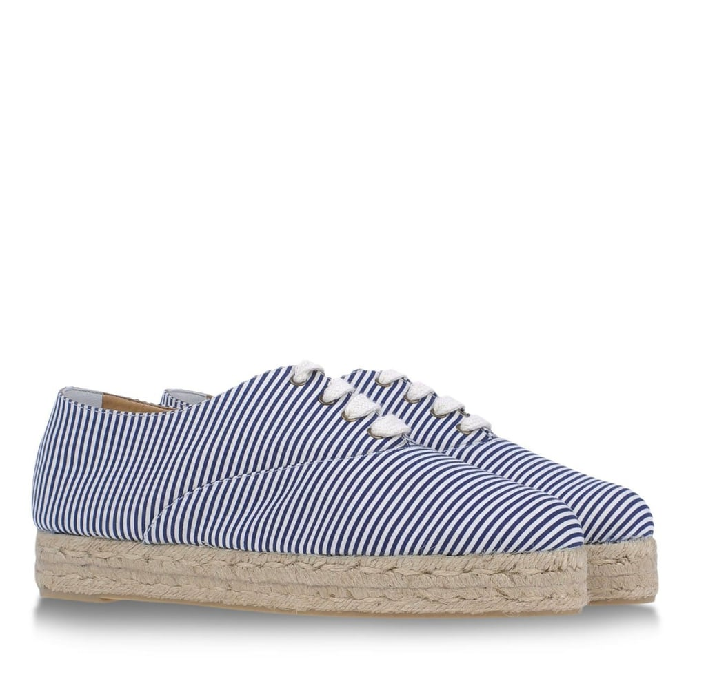 These Castañer stripe espadrilles ($130) will easily become my Spring go-to shoes, perfect for pairing with printed dresses, boyfriend jeans, and tailored shorts. — Chi Diem Chau
