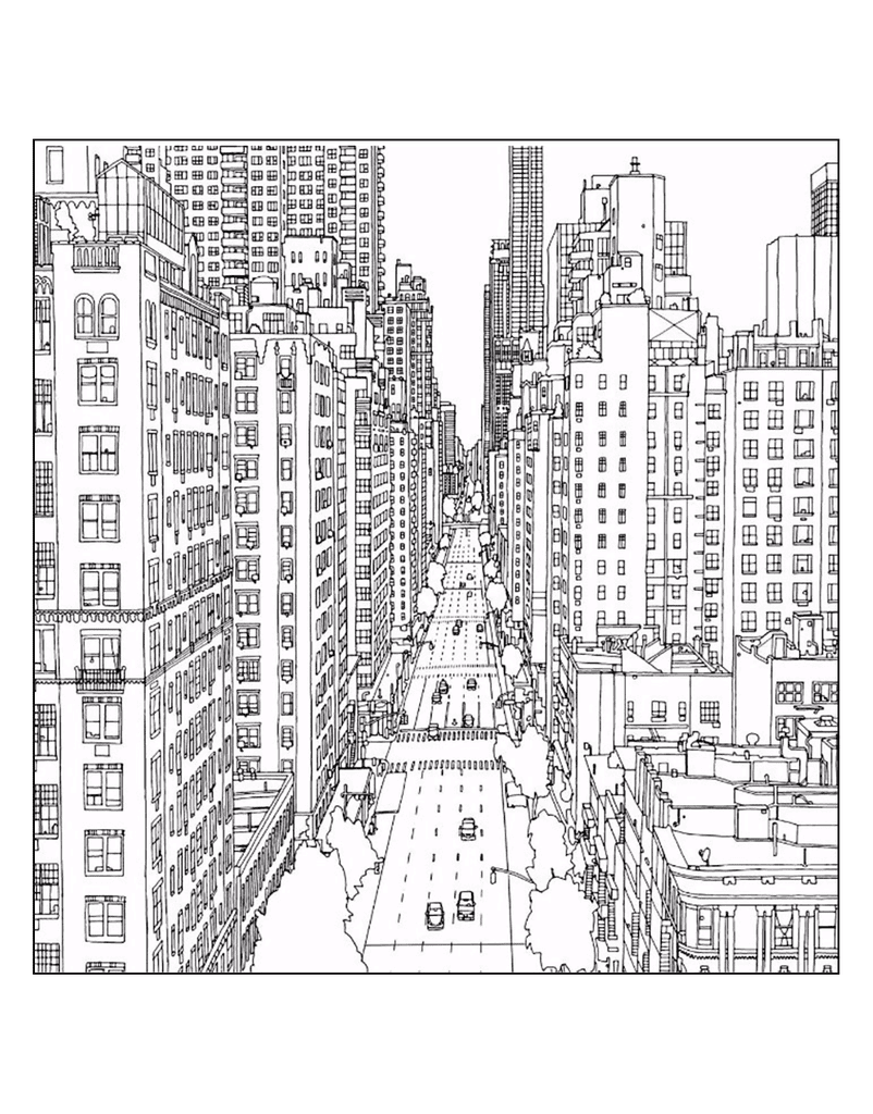 coloring pages new york city - photo#22