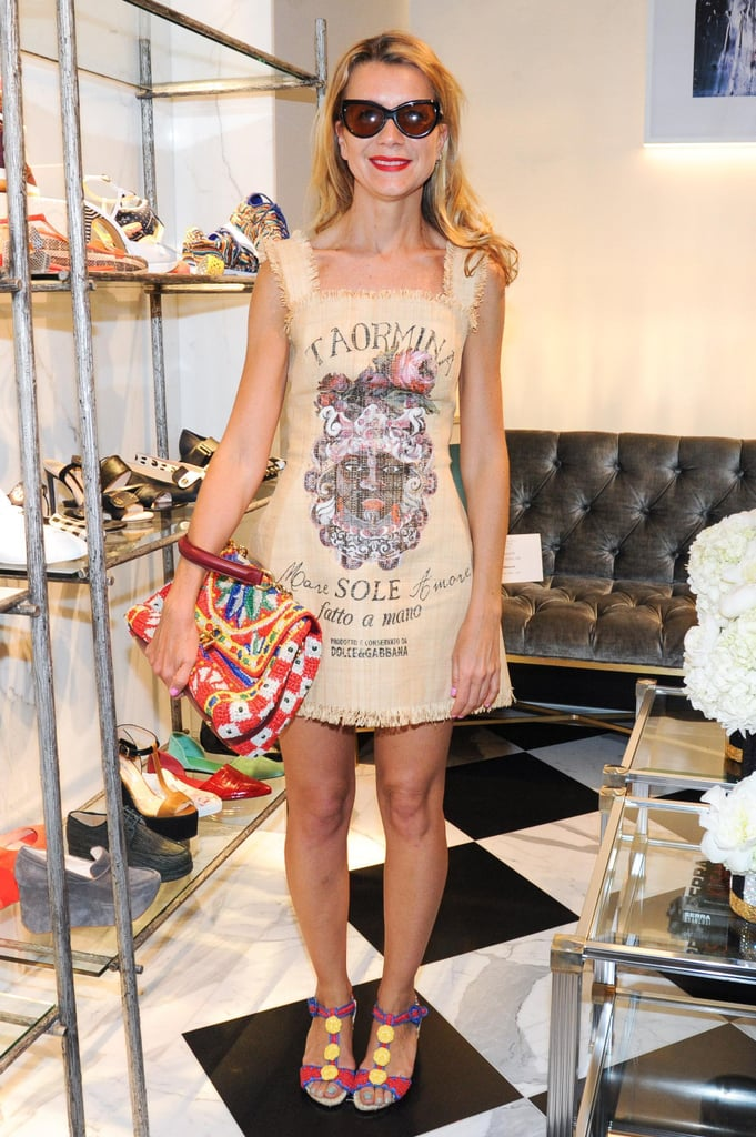 Natalie Joos at Swarovski and Fivestory's party for the 2013 CFDA Award nominees in New York. Source: Neil Rasmus/BFAnyc.com