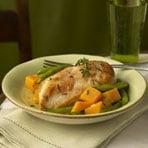 Today's Special: Golden Chicken & Autumn Vegetables
