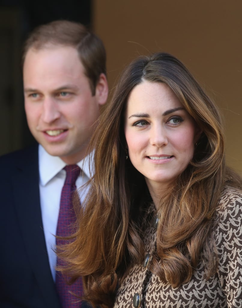 """Kate Middleton was back in brown to join Prince William on a charity visit to Only Connect in London on Tuesday. During a different solo outing during that day, Prince William  revealed that he wanted to buy the highly sought-after PlayStation 4, but joked: """"I'd like to get one, but I'm not sure how my wife would feel about it. It's very addictive."""""""