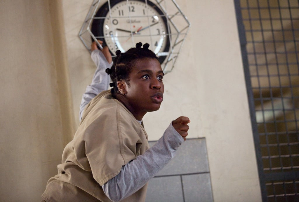 What's Crazy Eyes up to? Source: Netflix
