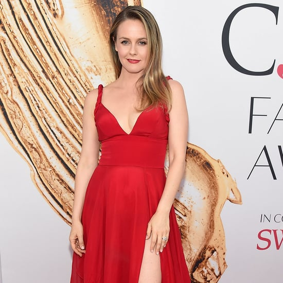 Alicia Silverstone's Red Dress at CFDA Awards 2016