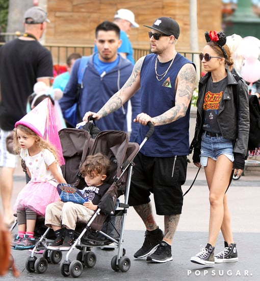 Nicole Richie wore Minnie Mouse ears.