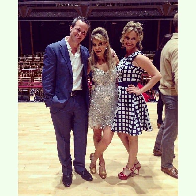 """Andrea: """"Thanks @candacecbure & @scottweinger for such a great night at #DWTS! This was even more fun than our 1993 prom when DJ and Steve broke up for two minutes and Kimmy's acrylic nails ended up stuck to her date's rear end. @dancingabc"""""""