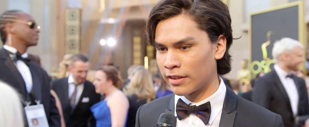 "Leonardo DiCaprio's Onscreen Son Forrest Goodluck: ""He's a Mentor to Me"""