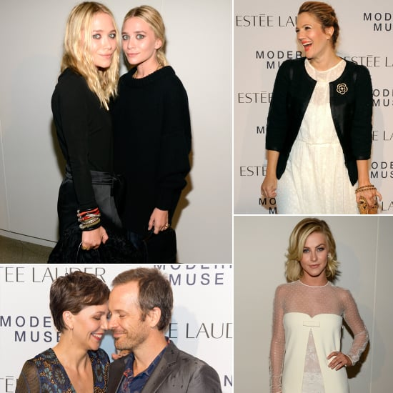 Mary-Kate and Ashley Olsen, Drew Barrymore, and More Get Glam at the Guggenheim