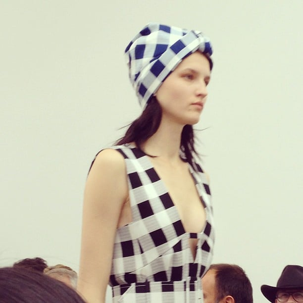 Will you be wearing this turban next Summer? Derek Lam thinks so.