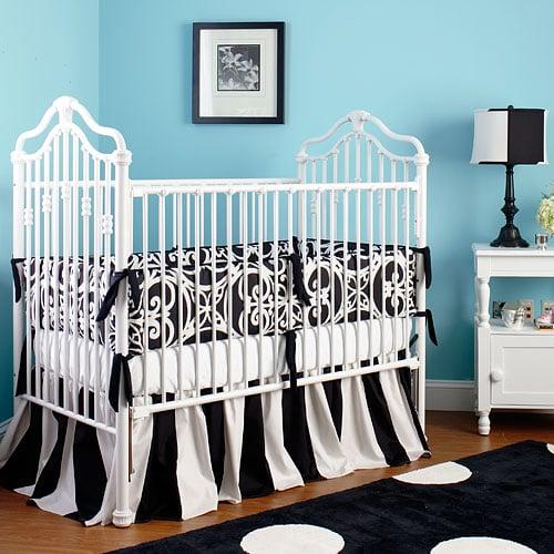 Black and White Nursery Decor