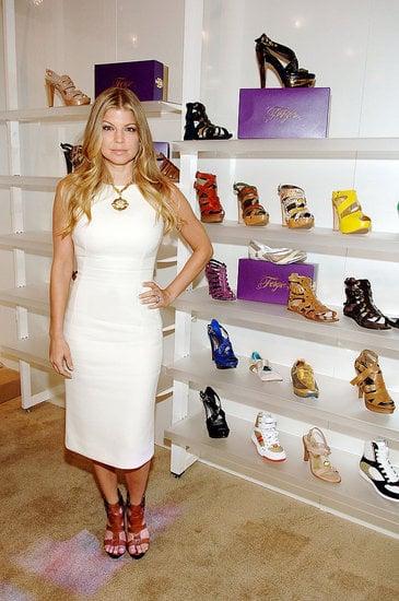 Behind the Seams: Fergie's Shoe Debut in Vegas