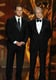 Matt Damon and Michael Douglas presented an award together at the Emmys.
