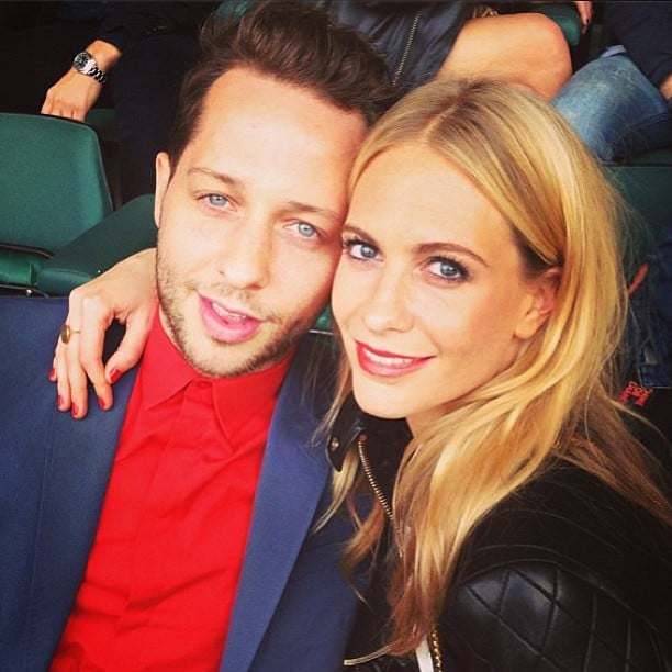 Fashion editor Derek Blasberg hung out with close friend Poppy Delevingne at the weekend's Chime For Change concert in London. Source: Instagram user poppydelevingne
