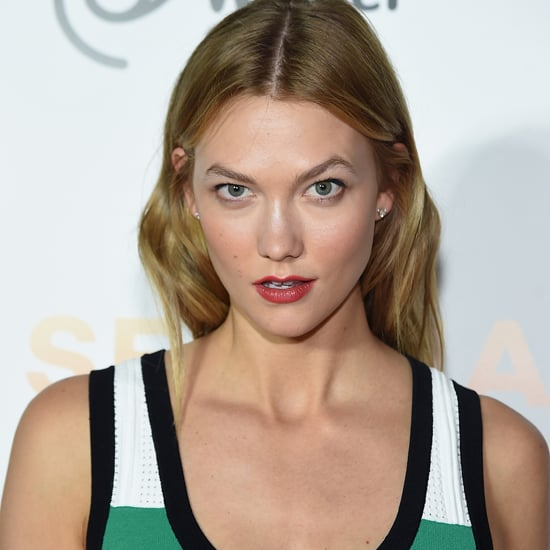 Karlie Kloss Black Flats at Serena Williams Event June 2016