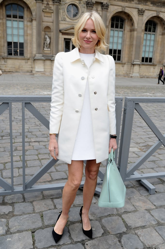 Naomi Watts at Louis Vuitton.